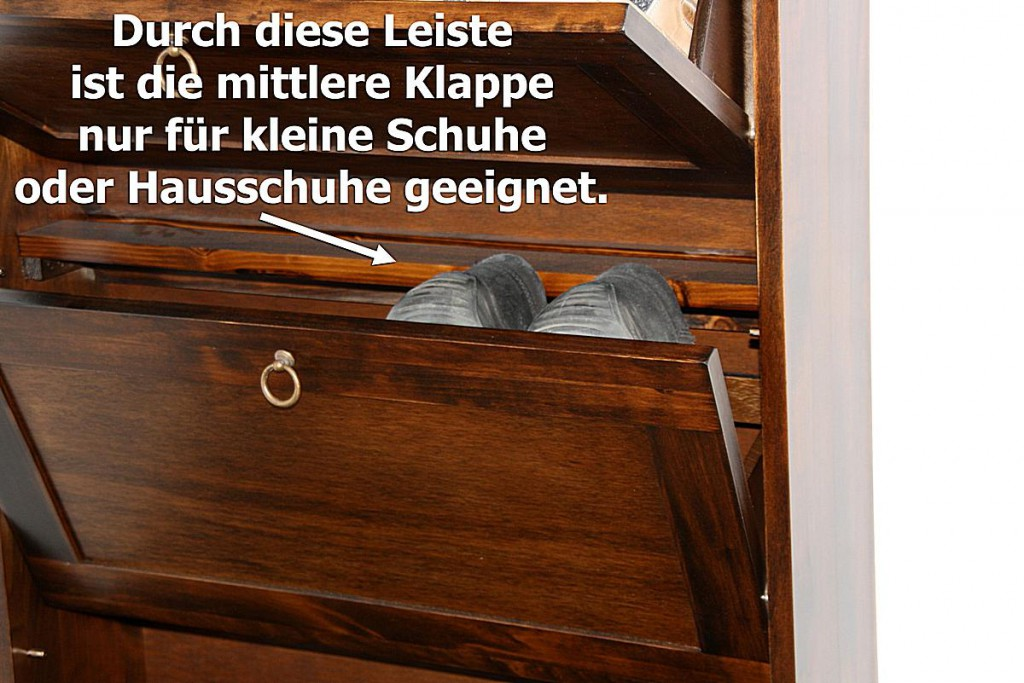 schuhschrank schuhkipper schuhkommode nussbaum farben. Black Bedroom Furniture Sets. Home Design Ideas
