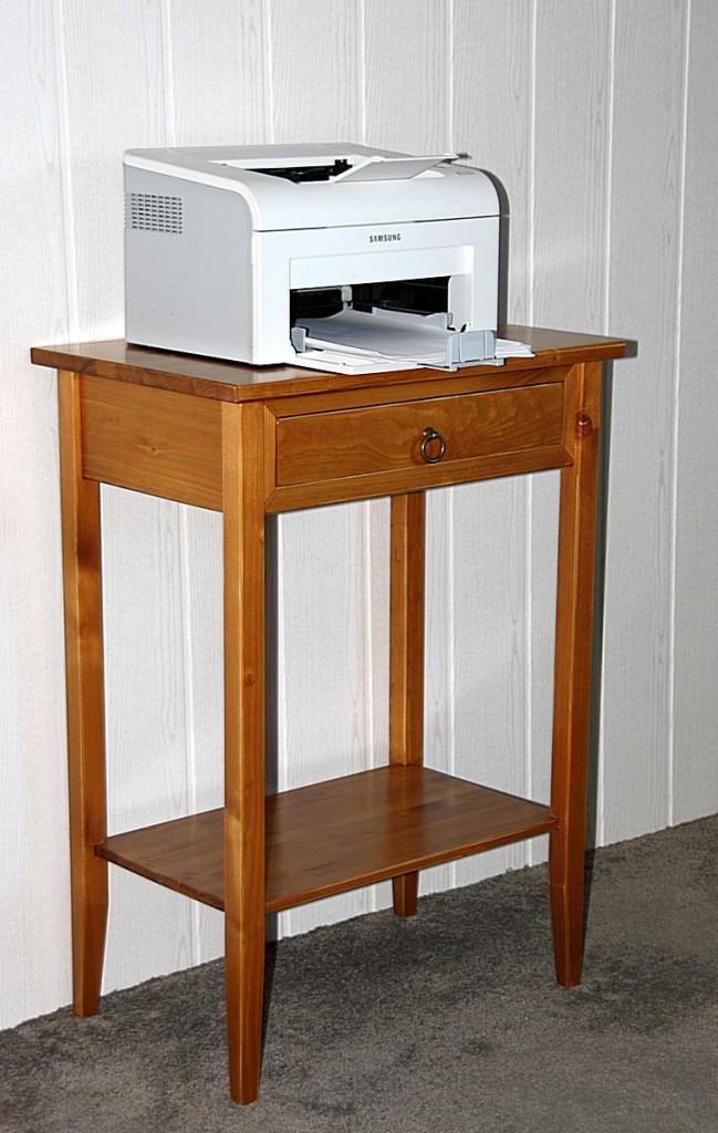 Konsolentisch laptoptisch konsole honig beistelltisch for Beistelltisch telefon