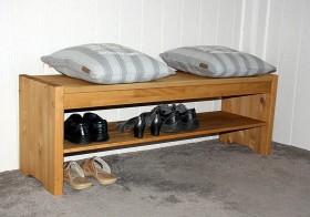 massivholz dielenbank. Black Bedroom Furniture Sets. Home Design Ideas