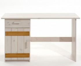 Schreibtisch kiefernholz massiv natur lackiert kiefer - Schreibtisch kiefernholz ...
