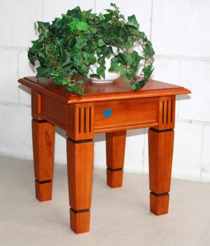 Blumenhocker beistelltisch blumentisch 45x45 holz pinie for Beistelltisch 45x45