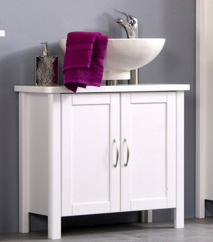 Waschtischunterschrank weiß  Waschbecken schrank Waschtisch unterschrank bad möbel massiv holz ...