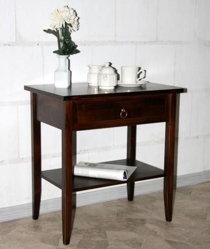 massivholz beistelltisch nachttisch konsolentisch holz. Black Bedroom Furniture Sets. Home Design Ideas