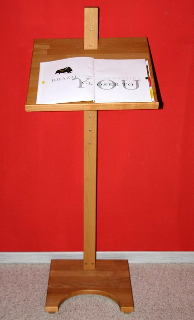 stehpult lesepult notenpult rednerpult notenst nder holz. Black Bedroom Furniture Sets. Home Design Ideas
