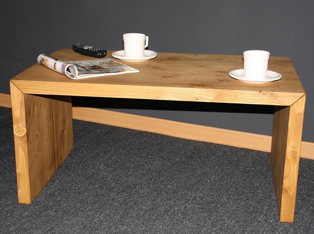 massivholz couchtisch beistelltisch 85x50 vollholz. Black Bedroom Furniture Sets. Home Design Ideas
