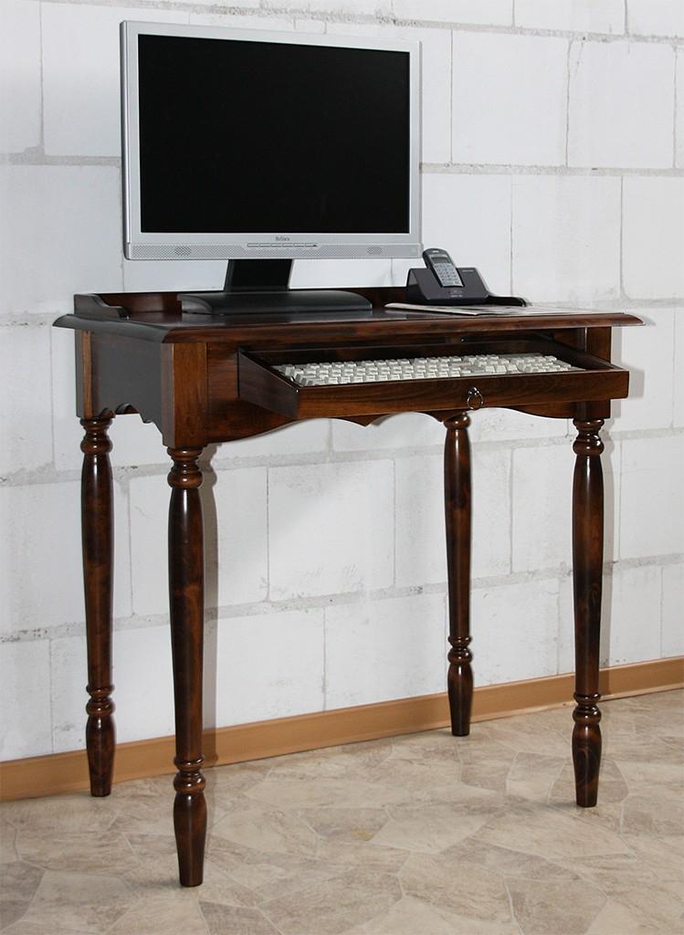 massivholz sekret r mit tastaturauszug computertisch. Black Bedroom Furniture Sets. Home Design Ideas