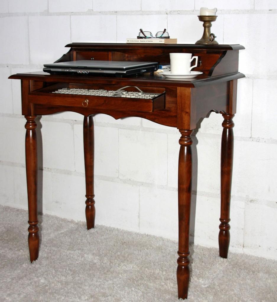 massivholz italienischer sekret r schreibtisch holz massiv kolonial. Black Bedroom Furniture Sets. Home Design Ideas