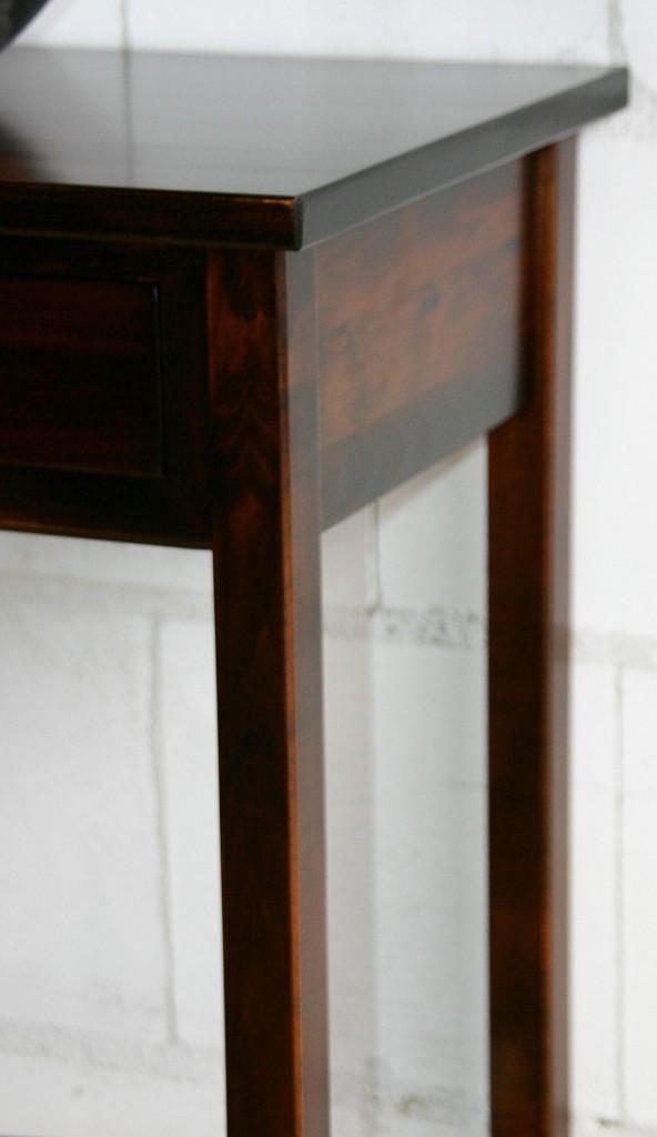 massivholz beistelltisch konsolentisch laptoptisch holz massiv kolonial ebay. Black Bedroom Furniture Sets. Home Design Ideas