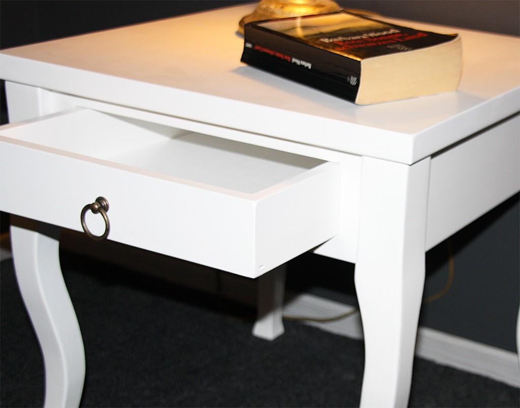 Nachttisch Beistelltisch Holz ~ Massivholz Nachttisch Nachtkonsole Beistelltisch 50×48 Holz Massiv