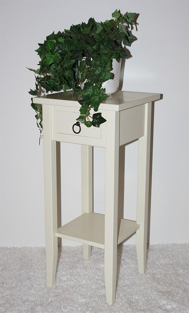 massivholz beistelltisch blumentisch blumenhocker 60. Black Bedroom Furniture Sets. Home Design Ideas