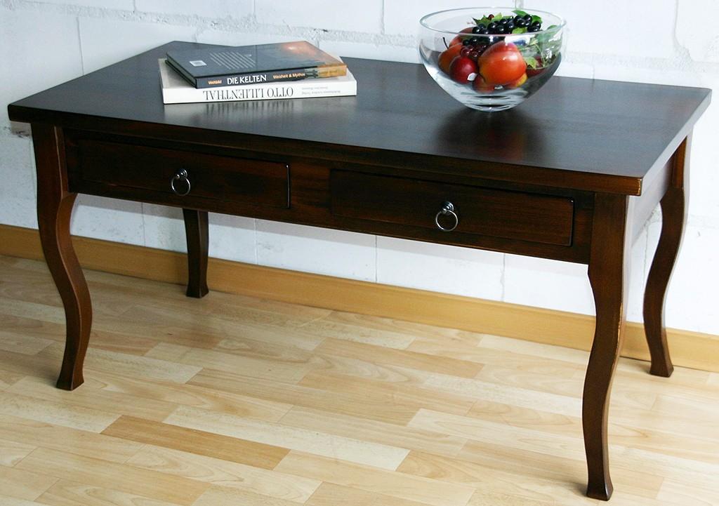 couchtisch wohnzimmertisch sofatisch massiv holz braun wenge kolonial nu baum ebay. Black Bedroom Furniture Sets. Home Design Ideas