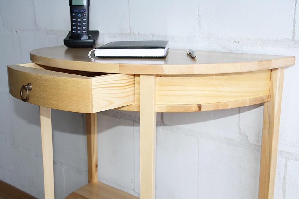 konsolentisch wandtisch telefontisch halbrund. Black Bedroom Furniture Sets. Home Design Ideas