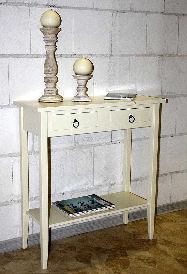Konsolentisch wandtisch beistelltisch flur telefon tisch for Wandtisch holz