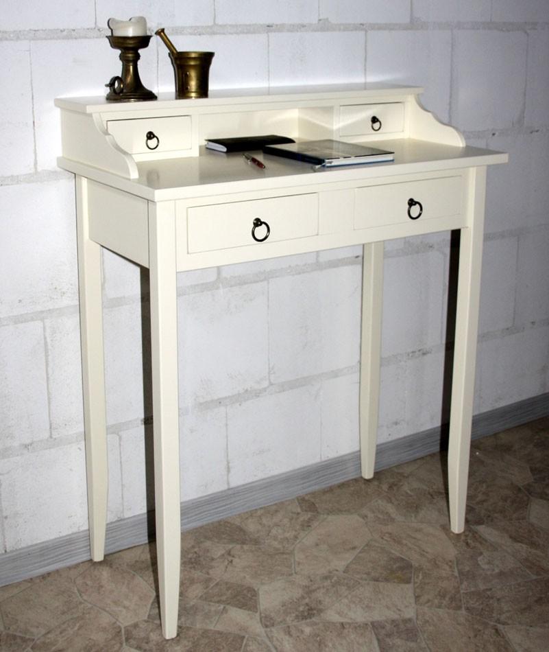 massivholz sekret r schreibtisch mit aufsatz schminktisch. Black Bedroom Furniture Sets. Home Design Ideas