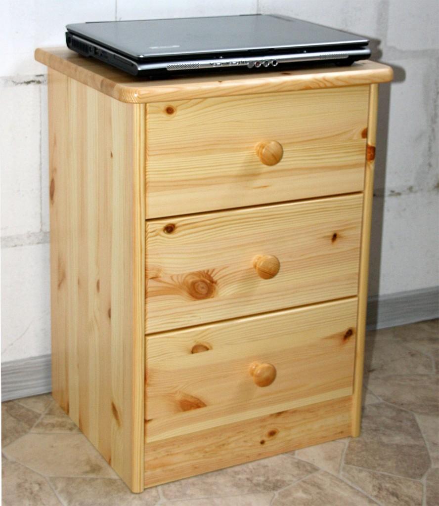 nachttisch kiefer massiv beautiful with nachttisch kiefer. Black Bedroom Furniture Sets. Home Design Ideas