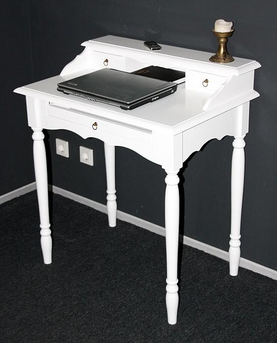 massivholz sekret r wei schreibtisch konsolentisch massiv. Black Bedroom Furniture Sets. Home Design Ideas