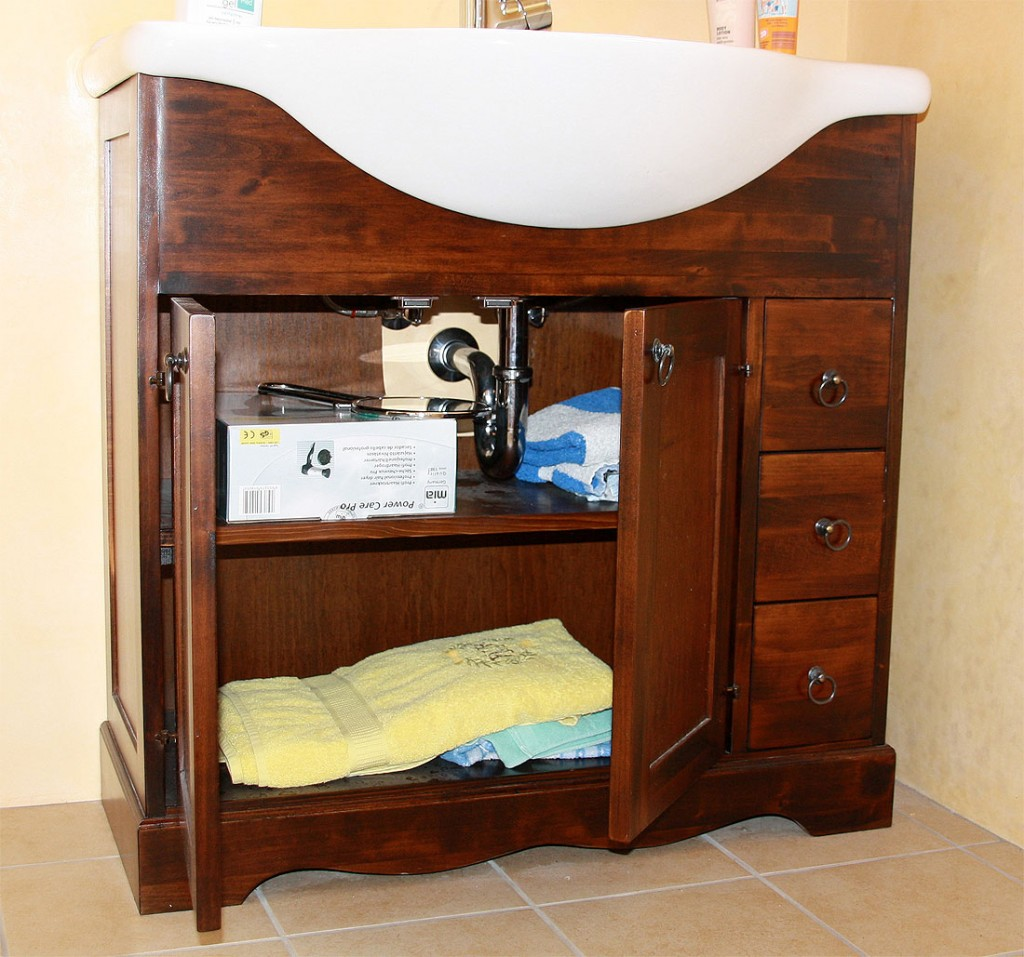 badm bel set komplett badezimmer m bel nu baum kolonial braun massiv holz ebay. Black Bedroom Furniture Sets. Home Design Ideas
