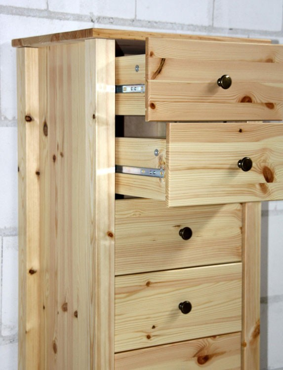 flur kommode schubladen telefon schrank w sche holz kiefer massiv lackiert ebay. Black Bedroom Furniture Sets. Home Design Ideas