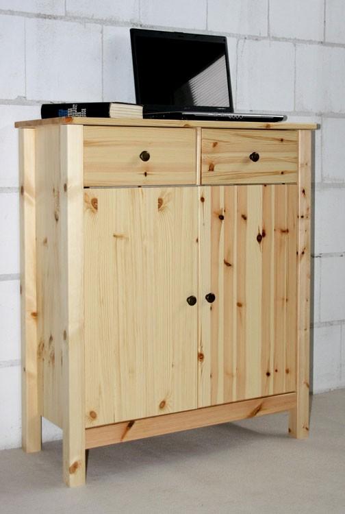kommode flurkommode schrank sideboard anrichte massiv holz. Black Bedroom Furniture Sets. Home Design Ideas