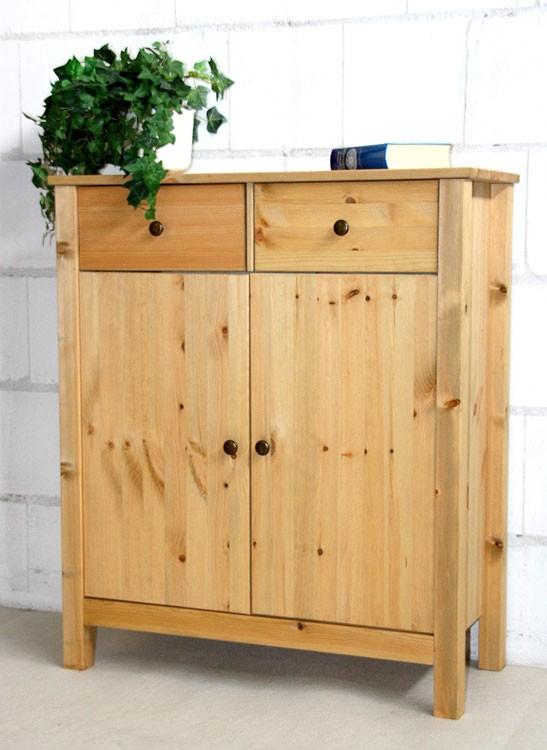 dielenkommode flur schrank anrichte sideboard massiv holz. Black Bedroom Furniture Sets. Home Design Ideas