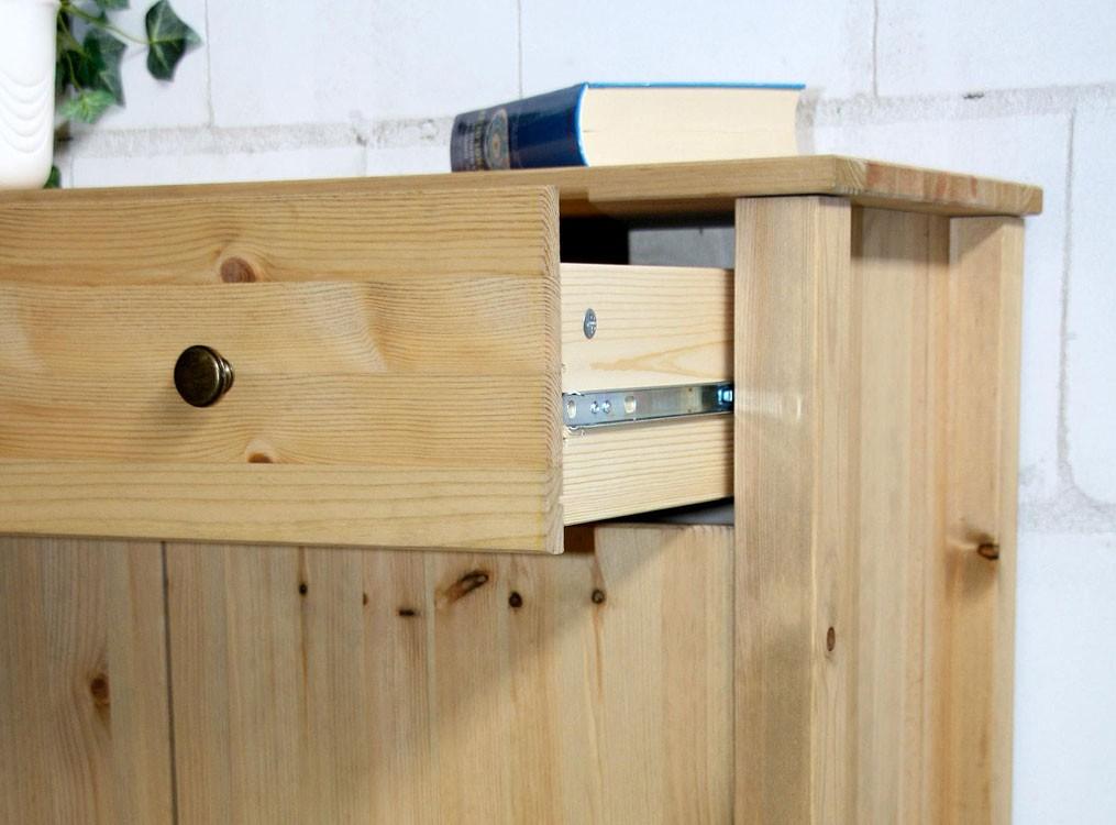 Dielenkommode flur schrank anrichte sideboard massiv holz for Sideboard vollholz