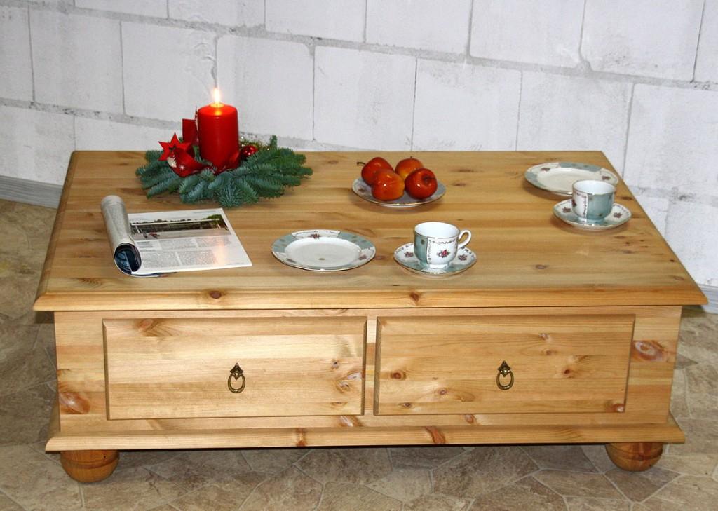 couchtisch truhentisch wohnzimmer tisch sofa holz kiefer. Black Bedroom Furniture Sets. Home Design Ideas