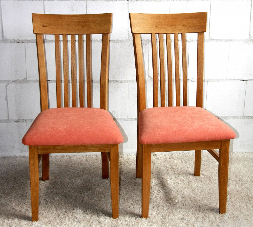 Stuhl Mit Polster Küchenstühle Esszimmer Stühle Holz Eiche