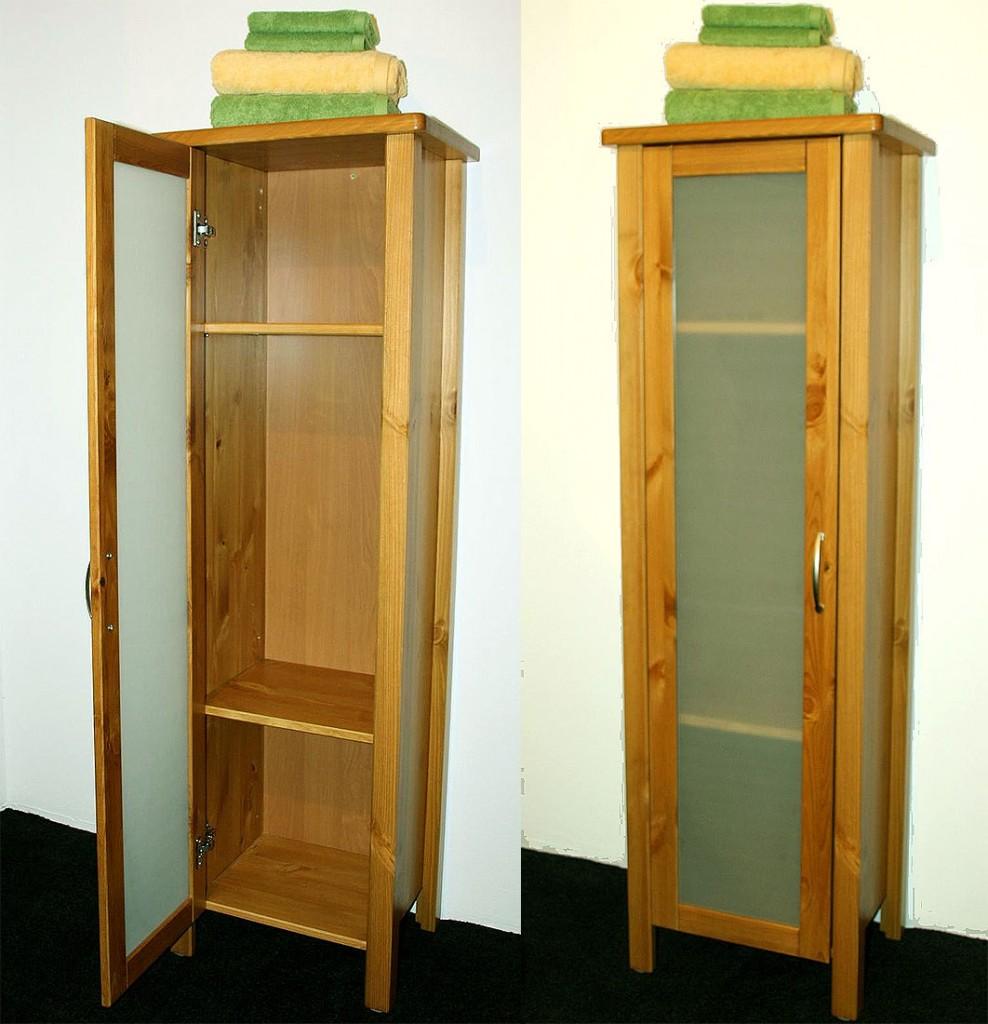 badschrank holz. Black Bedroom Furniture Sets. Home Design Ideas