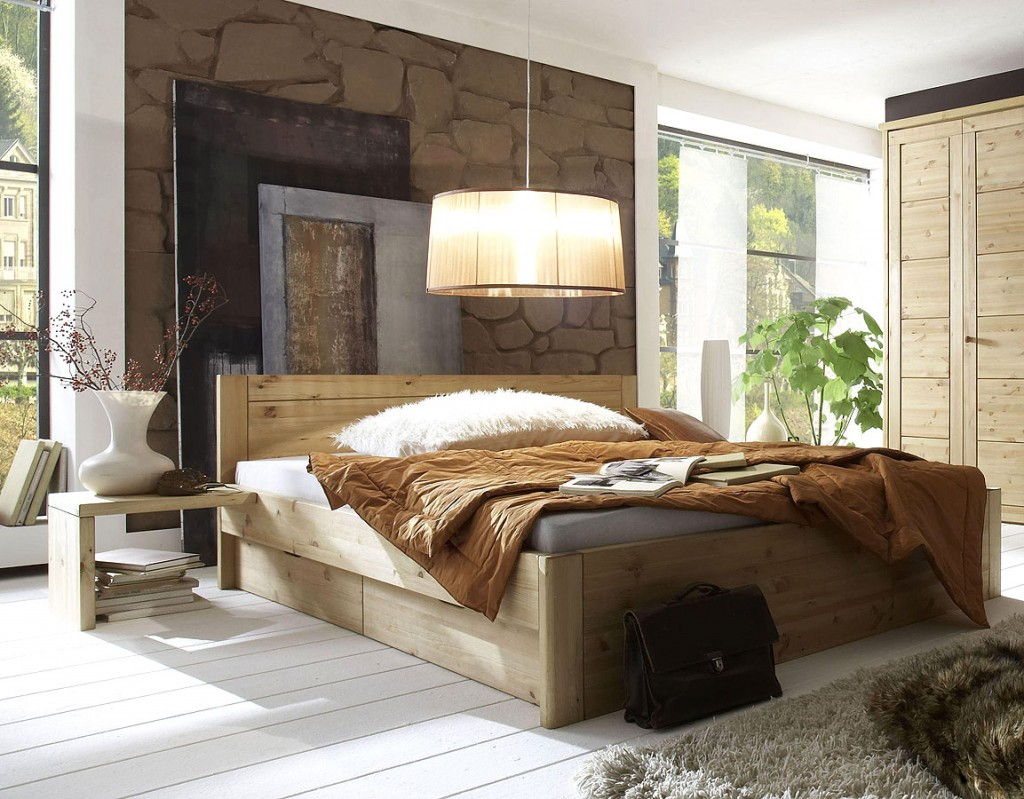 massivholz schlafzimmer landhausstil guldborg kiefer. Black Bedroom Furniture Sets. Home Design Ideas