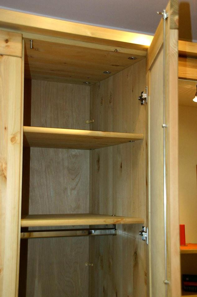 Massivholz schlafzimmerschrank 6t rig kleiderschrank kiefer for Schlafzimmerschrank kiefer