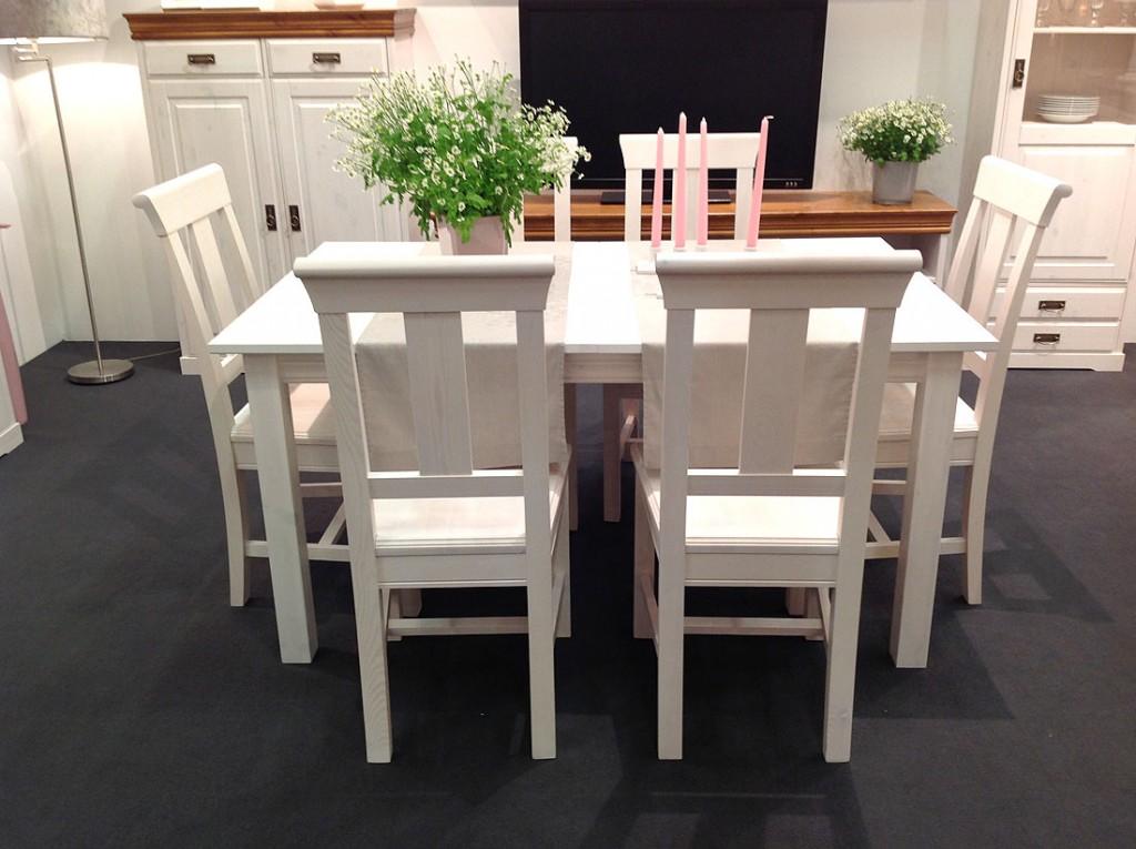 massivholz tischgruppe sitzgruppe essgruppe 7 teilig. Black Bedroom Furniture Sets. Home Design Ideas