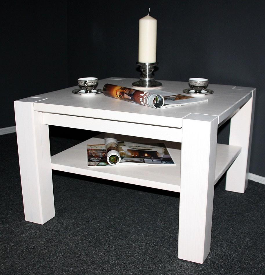 massivholz couchtisch 74x74 sofatisch wohnzimmertisch kiefer. Black Bedroom Furniture Sets. Home Design Ideas