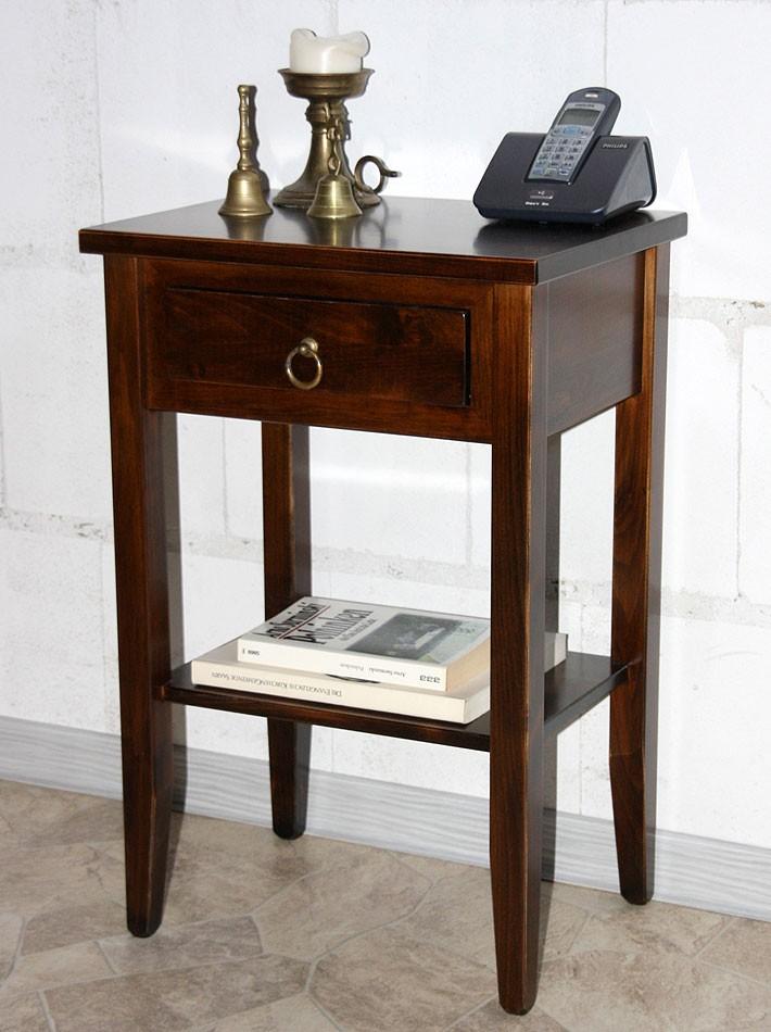 design beistelltisch holz massiv. Black Bedroom Furniture Sets. Home Design Ideas