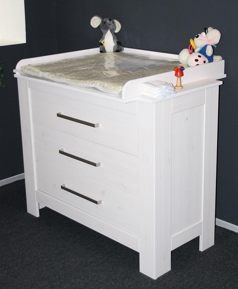 wickelkommode wickeltisch babym bel wei babykommode massiv holz kiefer weiss ebay. Black Bedroom Furniture Sets. Home Design Ideas