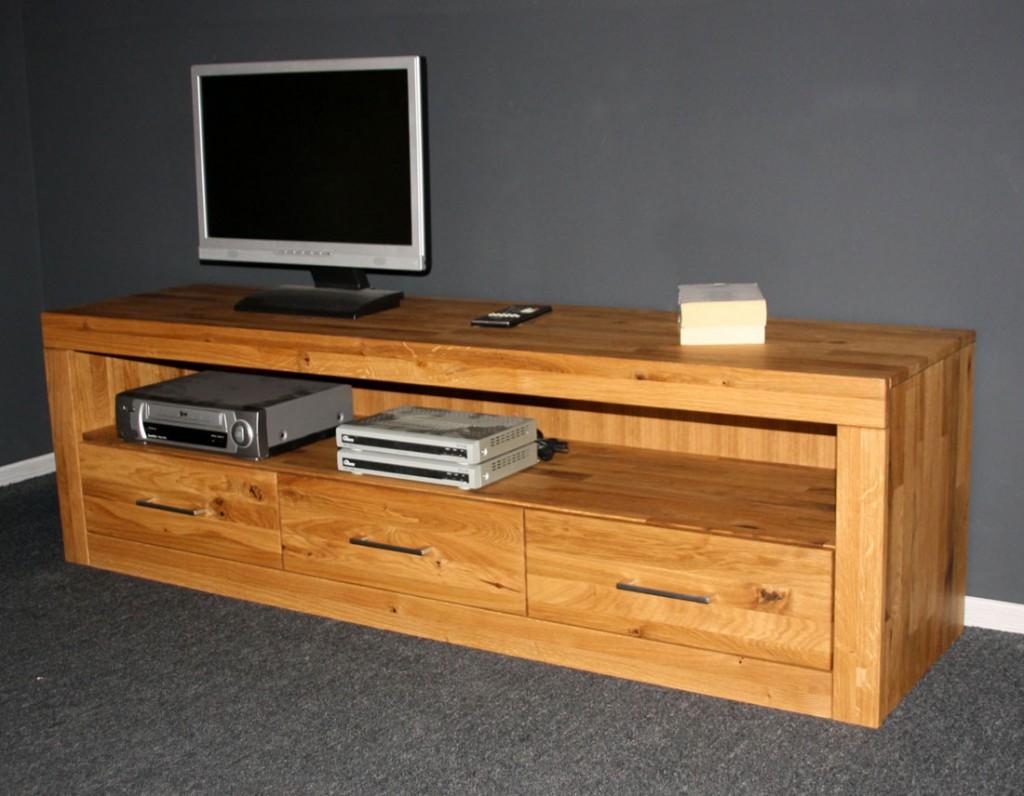 tv m bel wildeiche massiv interessante ideen f r die gestaltung eines raumes in. Black Bedroom Furniture Sets. Home Design Ideas
