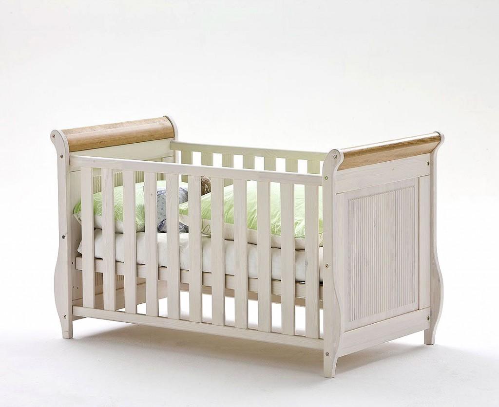 babybett paul wei antik kinderbett juniorbett kiefer. Black Bedroom Furniture Sets. Home Design Ideas