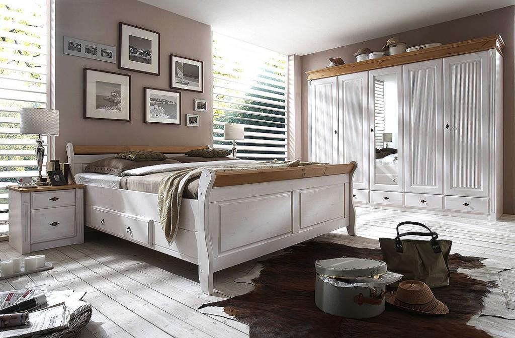 Schlafzimmer Weiss Mit Eiche Landhaus Modern ~ Die neuesten Innenarchitekturideen