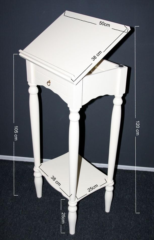 massivholz stehpult rednerpult notenst nder lesepult massiv creme. Black Bedroom Furniture Sets. Home Design Ideas