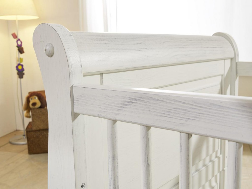 massivholz babyzimmer komplett kinderzimmer holz kiefer massiv wei shabby antik ebay. Black Bedroom Furniture Sets. Home Design Ideas