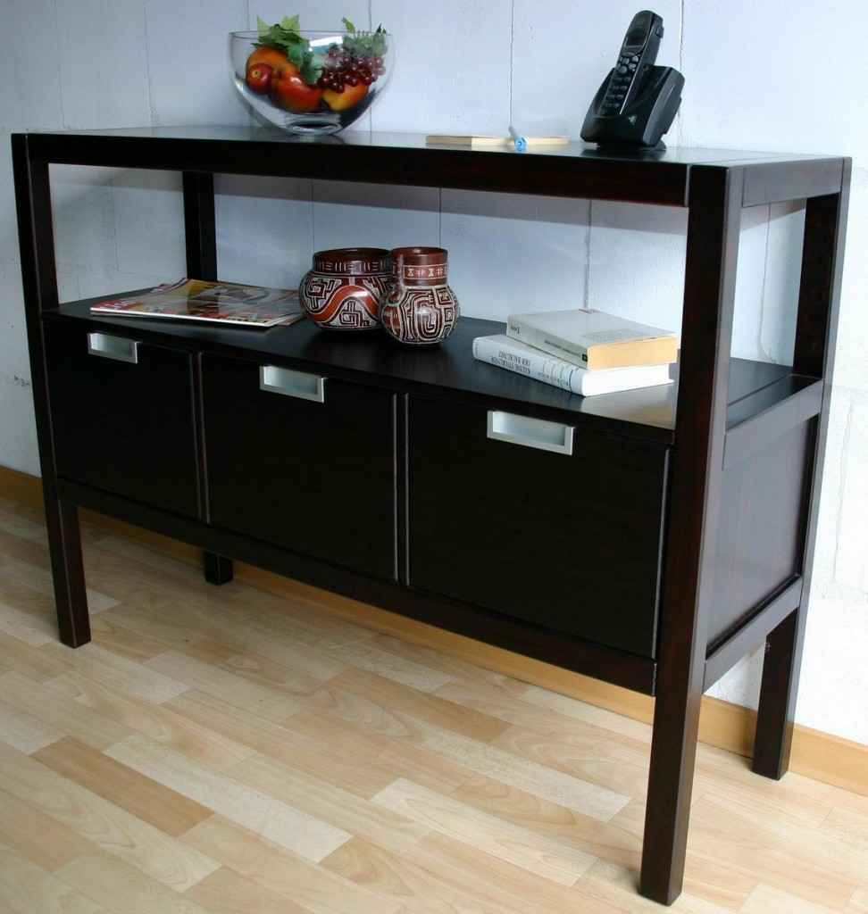 konsolentisch dunkelbraun bestseller shop f r m bel und einrichtungen. Black Bedroom Furniture Sets. Home Design Ideas