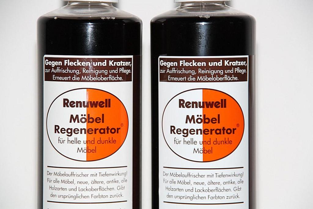 Renuwell Möbel Regenerator Möbelpolitur Holzpflege Pflege