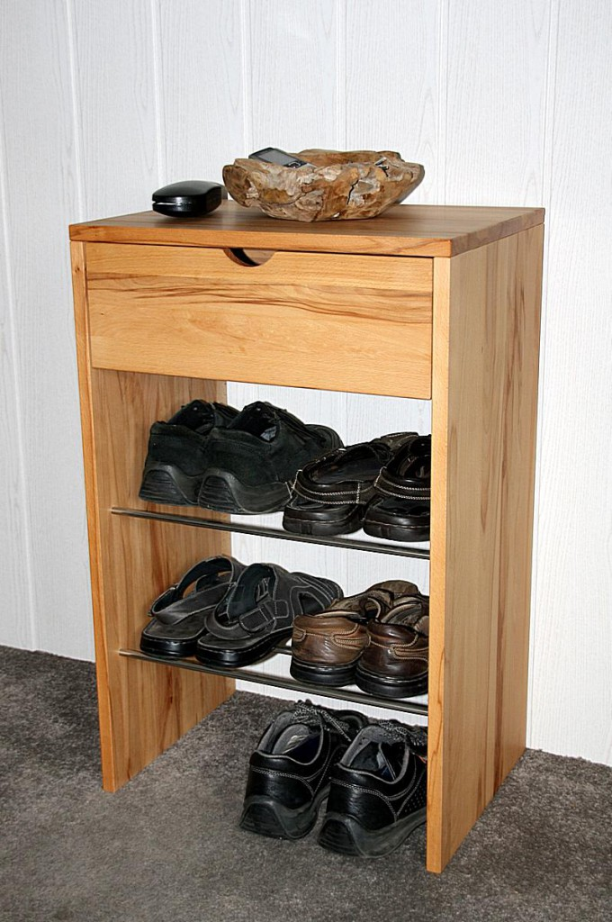 massivholz kommode schuhschrank dielenm bel kernbuche ge lt gewachst. Black Bedroom Furniture Sets. Home Design Ideas