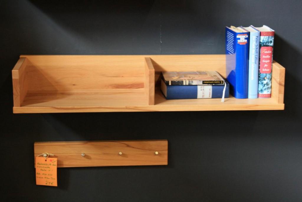 massivholz wandboard wandablage wandregal kernbuche ge lt. Black Bedroom Furniture Sets. Home Design Ideas