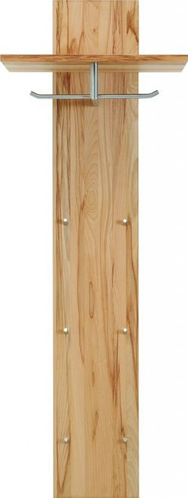 Massivholz wandpaneel garderobenpaneel flurgarderobe for Garderobenpaneel buche
