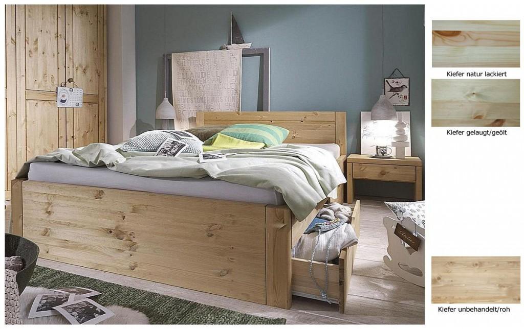 Bett 140 x 200 massivholz preisvergleiche erfahrungsberichte und kauf bei nextag - Schubladenbett 140x200 ...