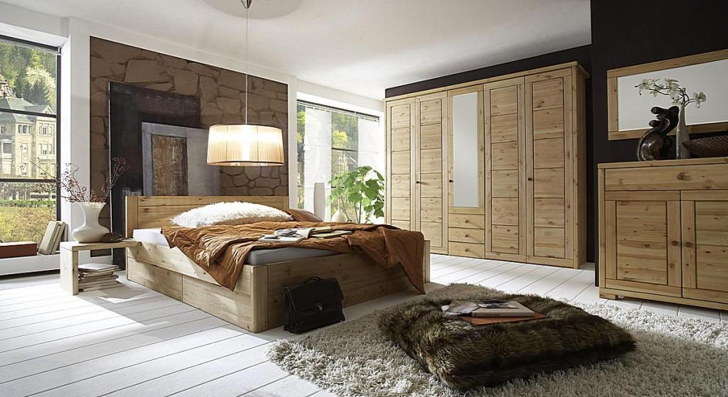 massivholz bett 180x200 4 schubladen komforth he xl schubladenbett kiefer natur. Black Bedroom Furniture Sets. Home Design Ideas