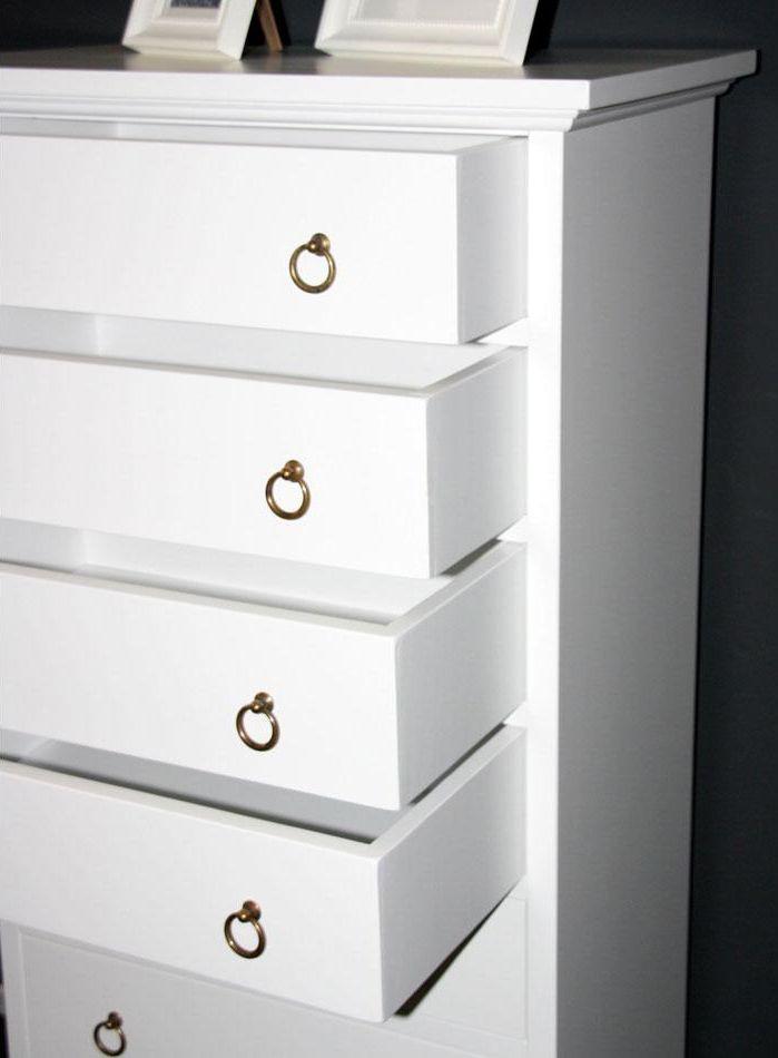 massivholz schubladenkommode kommode b rom bel wei. Black Bedroom Furniture Sets. Home Design Ideas