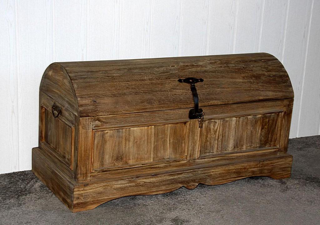 massivholz truhe holztruhe deckeltruhe w schetruhe teak. Black Bedroom Furniture Sets. Home Design Ideas