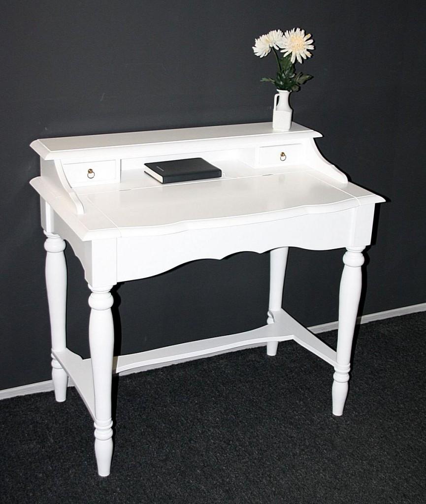 italienischer sekret r wei schreibtisch konsolentisch. Black Bedroom Furniture Sets. Home Design Ideas