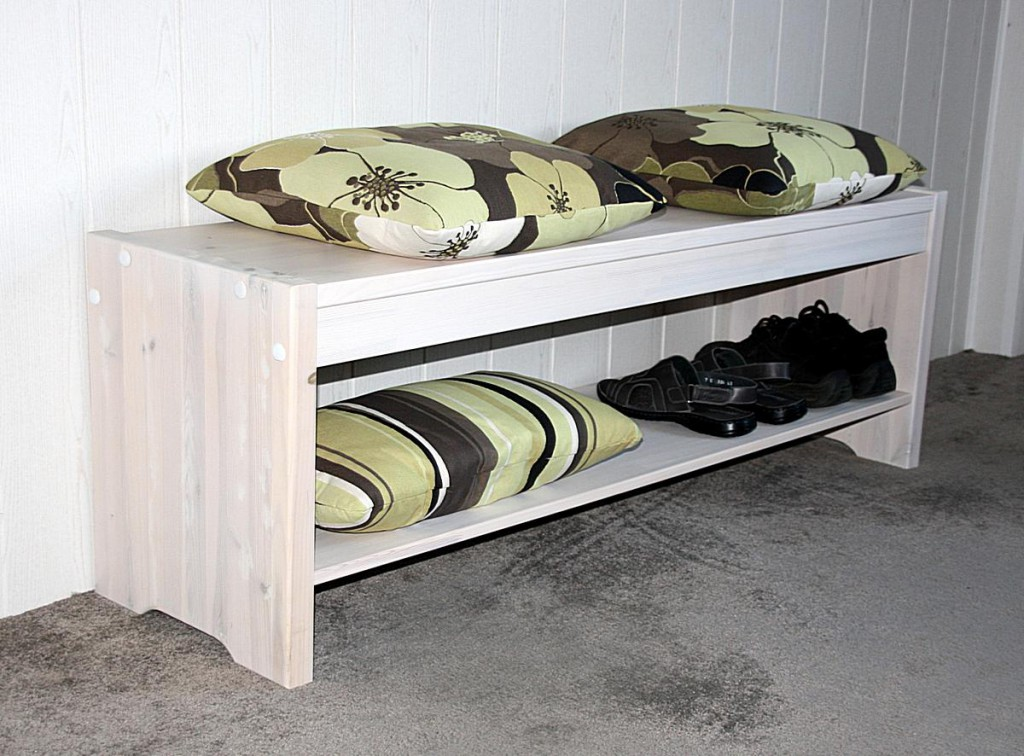 massivholz sitzbank kiefer massiv holzbank k chenbank wei. Black Bedroom Furniture Sets. Home Design Ideas